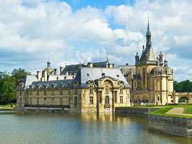 Schloss Chantilly in der Picardie